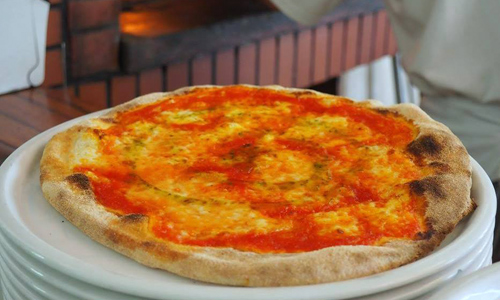Auténtica pizza italiana en Barcelona - Pizza Margherita